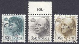 NORGE - 1993 - Serie Completa Di 3 Valori Usati: Yvert 1073/1075, Come Da Immagine. - Norwegen