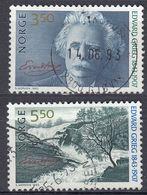 NORGE - 1993 - Serie Completa Di 2 Valori Usati: Yvert 1082/1083, Come Da Immagine. - Norwegen