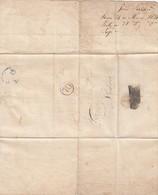 PORTUGAL. LETTER CARTA LETTRE. 24 3 1835. VISEU TO LISBOA. PERIGRINO & JOAD FERRARI TO FRANSISCO FERRARI JUNIOR  / 7133 - ...-1853 Préphilatélie