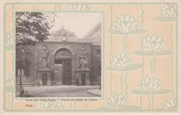 57 - METZ - PORTAIL DU PALAIS DE JUSTICE - DECOR STYLE 1900 - Metz