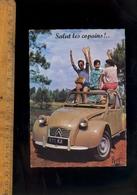 Automobiles : Automobile Citroen 2CV 2 CV Salut Les Copains Car Wagen Voiture Deuche - Toerisme