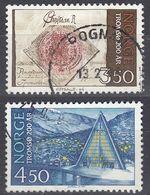 NORGE - 1994 - Serie Completa Di 2 Valori Usati: Yvert 1111/1112, Come Da Immagine. - Norwegen