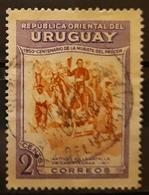 URUGUAY 1952 The 100th Anniversary Of The Death Of General Jose Artigas, 1764-1850. USADO - USED. - Uruguay