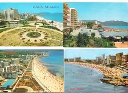 Spain - Mallorca - 4 Cards - Cala Millor - Old Views - Mallorca