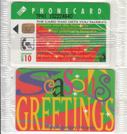 SOUTH AFRICA(chip) - Seasons Greetings, Telkom Telecard(thick Writing), Tirage %50000, Mint - Zuid-Afrika