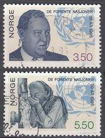 NORGE - 1995 - Serie Completa Di 2 Valori Usati: Yvert 1144/1145, Come Da Immagine. - Norwegen