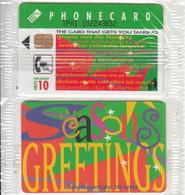 SOUTH AFRICA(chip) - Seasons Greetings, Telkom Telecard(thin Writing), Tirage %50000, Mint - Sudafrica
