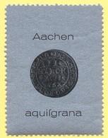 Tematica - Erinnofilia - Aachen - Aquisgrana - Erinnofilia