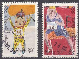NORGE - 1996 - Serie Completa Di 2 Valori Usati: Yvert 1166/1167, Come Da Immagine. - Norwegen