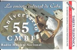 CUBA(Urmet) - 55th Anniversary CMBF, Radio Musical Nacional, 07/03, Mint - Cuba