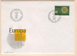 LIECHTENSTEIN 1970 Europa First Day Cover Mi. Nr. 525 - Liechtenstein