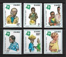 ZAIRE 1979 ANNEE DE L'ENFANCE  YVERT N°951/56  NEUF MNH** - Zaïre
