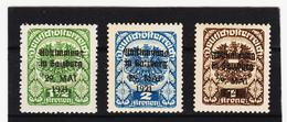ORY387 ÖSTERREICH LOKALAUSGABEN 1921 SALZBURG ** Postfrisch SIEHE ABBILDUNG - Ungebraucht