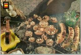 POSTAL LINEAS AEREAS IBERIA RECETAS DE  COCINA PARRILLA - Recetas De Cocina