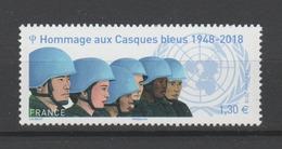 FRANCE / 2018 / Y&T N° ?2018/05 ** : Hommage Aux Casques Bleus - Gomme D'origine Intacte - Francia