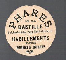 Paris : Petite Publicité PHARES DE LA BASTILLE (PPP13548) - Publicités