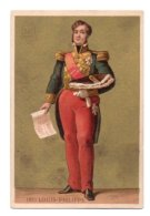 (Chromos) Hachette, Ducoudray 3 Vol 91 Louis-Philippe Ier - Chromos