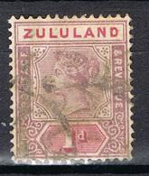 AFRIQUE DU SUD-ZULULAND YT 15 - Zululand (1888-1902)