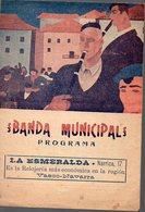 San Sebastian (Espagne) BANDA MUNICIPAL Programa 1932 (PPP13553) - Programs