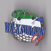 PIN'S THEME AUTOMOBILE  WOLKSWAGEN   SPONSOR  GOLF CUP - Volkswagen