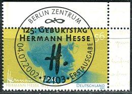 BRD - Mi 2270 ECKE REO - Zentrisch OO Gestempelt (F) - 56C      Hermann Hesse - Gebruikt