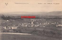 CPA 19 : CUBLAC - VUE GÉNÉRALE  - édition BESSOT - France
