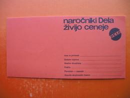CASOPIS DELO LJUBLJANA,SET 10 BONOV,10 EMPTY TOKENS - Professionals / Firms