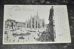2546   Milano, Piazza De Duomo - 1902 - Milano
