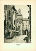 Kupfertiefdruck : Montefiascone - Via Bizzio - Loreto - Chiesa Della Casa Santa - Estampas & Grabados