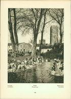 Kupfertiefdruck : Ninfa - Wäscherinnen - Wohnhütte Am Rand Der Einstigen Pontinischen Sümpfe - Prints & Engravings