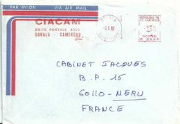 Ema Havas P - Lettre De Douala Pour La France - Kameroen (1960-...)