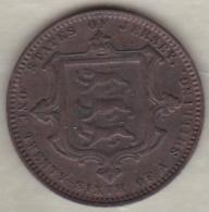 Jersey , 1/26 Shilling 1870. Victoria , Bronze , KM# 4 - Jersey