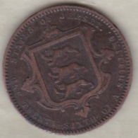 Jersey , 1/26 Shilling 1866. Victoria , Bronze , KM# 4 - Jersey