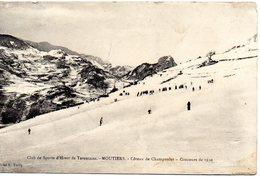 Coteau De Champoulet Sport D'hiver Moutiers Concour 1910 - Autres Communes