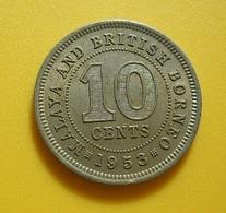 Malaya & British Borneo 10 Cents 1953 - Coins