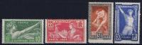 France: Yv Nr  183 - 186 MNH/**  Sans Charnière  1924 - Frankrijk