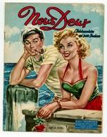 """Revue Vintage """"Nous Deux"""" - N° 417 - Sur La Jetée... - 1955 - Andere"""