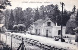 61 - Orne -  NEUILLY Le BISSON - La Gare - France