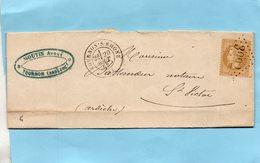G.C.3393 TOURNON-S-RHÔNE Sur N°21,L.A.C. Du 20/8/69. - Storia Postale