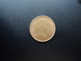 ROYAUME UNI : 1/2 NEW PENNY   1974   KM 914    SUP - 1971-… : Monnaies Décimales