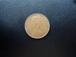 ROYAUME UNI : 1/2 NEW PENNY   1977   KM 914    SUP - 1971-… : Monnaies Décimales