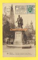 CPA  ANVERS Place Verte Statue Rubens 1931 - Antwerpen