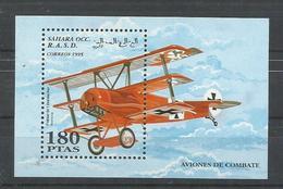 SAHARA OCCIDENTAL   H/B  AVION COMBATE   MNH  ** - Stamps