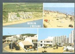 85 ST  HILAIRE  De  RIEZ ... Vues Multiples Dont La Plage Animee ... (cpsm) - Saint Hilaire De Riez