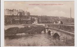 CARTE POSTALE  LES RICEYS 10  La Laignes Et La Gare De Riceys-Hauterive - Les Riceys