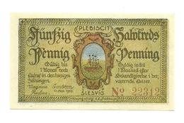 1920 - Germania - Slesvig Notgeld N37, - [11] Emissioni Locali