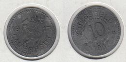 Allemagne LAMBRECHT  10 Kriegsgeld 1917 (chèvre, Bouc) - Monetary/Of Necessity