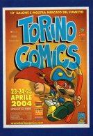 [DC0660] CPM - CARTOLINEA - TORINO COMICS 2004 TORINO LINGOTTO - Non Viaggiata - Fumetti