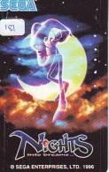 Telecarte Jeu Video - (181) SEGA - Game Phonecard Japan - Spiel Telekarte - Jeux