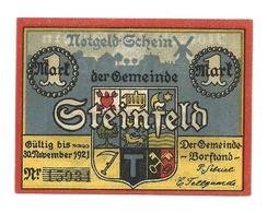 1921 - Germania - Steinfeld Notgeld N38 - [11] Emissioni Locali